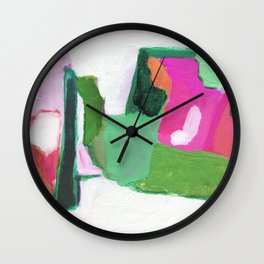 Streamline (watermelon) Wall Clock