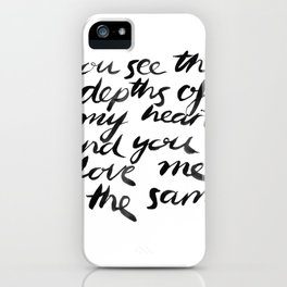 You See. iPhone Case