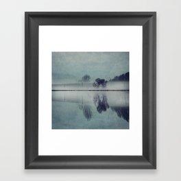 Misty Mirror - Landscape Reflections Framed Art Print