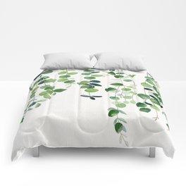 Eucalyptus Watercolor 2  Comforters
