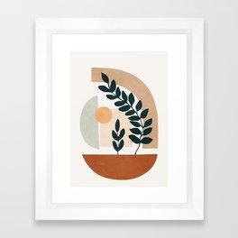 Soft Shapes III Framed Art Print