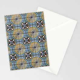 A sky full of stained glasses Stationery Cards