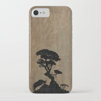 safari iPhone & iPod Cases featuring Safari by Last Call