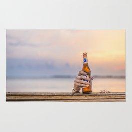 Here's my beer! Rug