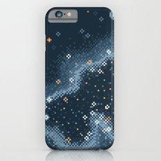 Grey Rift Galaxy (8bit) Slim Case iPhone 6s