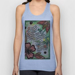 Do not be obsessed with sadness Unisex Tank Top