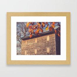 Rock Mill 2 Framed Art Print