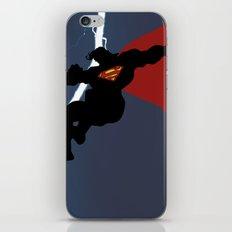 Supes Knight Returns iPhone & iPod Skin