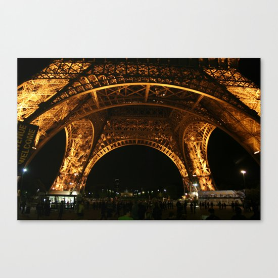 From Underneath Canvas Print