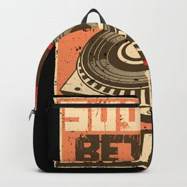 Vinyl Sounds Better Backpack