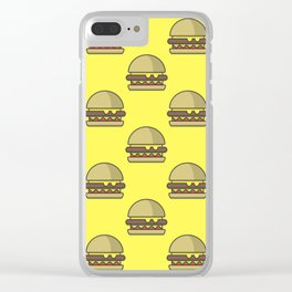 Burger Frenzy Clear iPhone Case