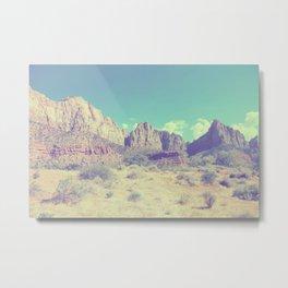 Utah rock landscape Metal Print