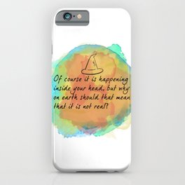 it is happening inside your head iPhone Case
