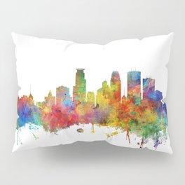 Minneapolis Minnesota Skyline Pillow Sham