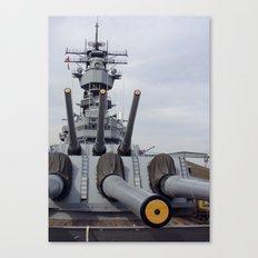 USS Iowa Canvas Print