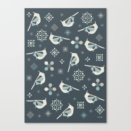 Petit Birds Canvas Print