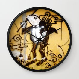 frog in tux Wall Clock