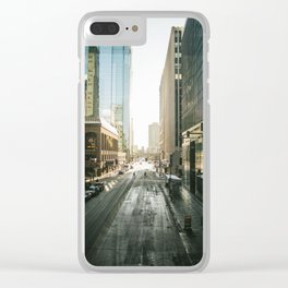 Downtown Minneapolis Clear iPhone Case