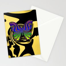 butterfly fantasy Stationery Cards