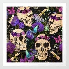 Calavera Clique  Art Print