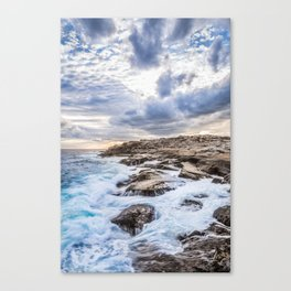 Crashing Waves At Prospect, Nova Scotia #3 Canvas Print