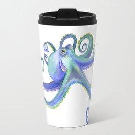 Octopus Watercolor Travel Mug