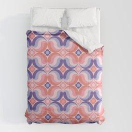 Sixties retro pattern Comforters