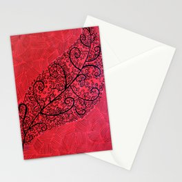 'Red'y, Steady, Grow Stationery Cards
