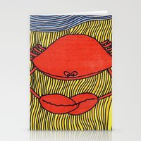 crab Stationery Cards featuring Crab by mojekris