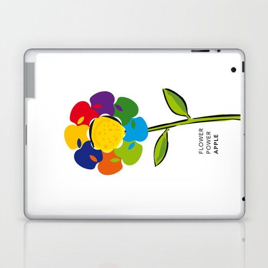 Flower Power iPhone 4 5 6, ipod, ipad case Samsung Galaxy Laptop & iPad Skin