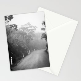 Mount Wellington Misty Road Stationery Cards
