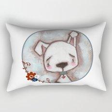 Dog  - by Diane Duda Rectangular Pillow
