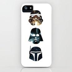In a galaxy iPhone (5, 5s) Slim Case