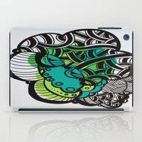 brain iPad Cases featuring Brain by MelisaCole