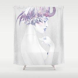 Dahlia 2 Shower Curtain