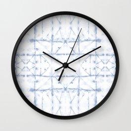 Manifest Blue Wall Clock
