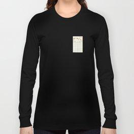 Library Card 797.B7 Long Sleeve T-shirt