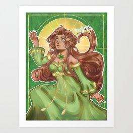 Spring Goddess Art Print