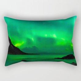 Northern Lights (Aurora Borealis) 5. Rectangular Pillow