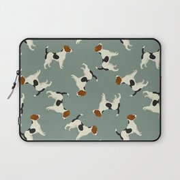 Jack Russell Green Bay Laptop Sleeve