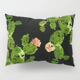 weird cactus black version Pillow Sham
