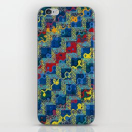 Abstract Zig Zags iPhone Skin