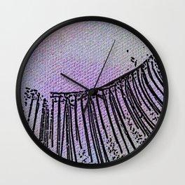 Eyelash extension Wall Clock
