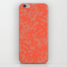 Coral Botanical Pattern - Broken but Flourishing iPhone Skin