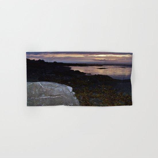 Rock Faced Sunset Hand & Bath Towel