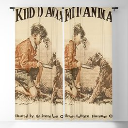 Be Kind To Animals 3 Blackout Curtain