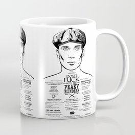 Peaky Blinders - Tattoo Tommy Shelby Coffee Mug