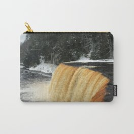 Wintry Waterfall Carry-All Pouch