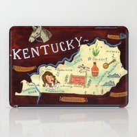 kentucky iPad Cases featuring Kentucky by Christiane Engel