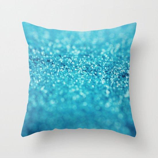Blueberry Tart Throw Pillow